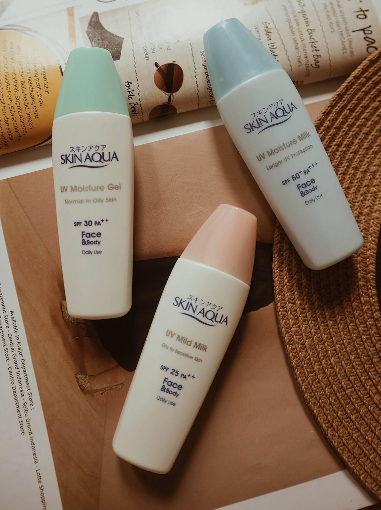 Sunscreen Skin Aqua