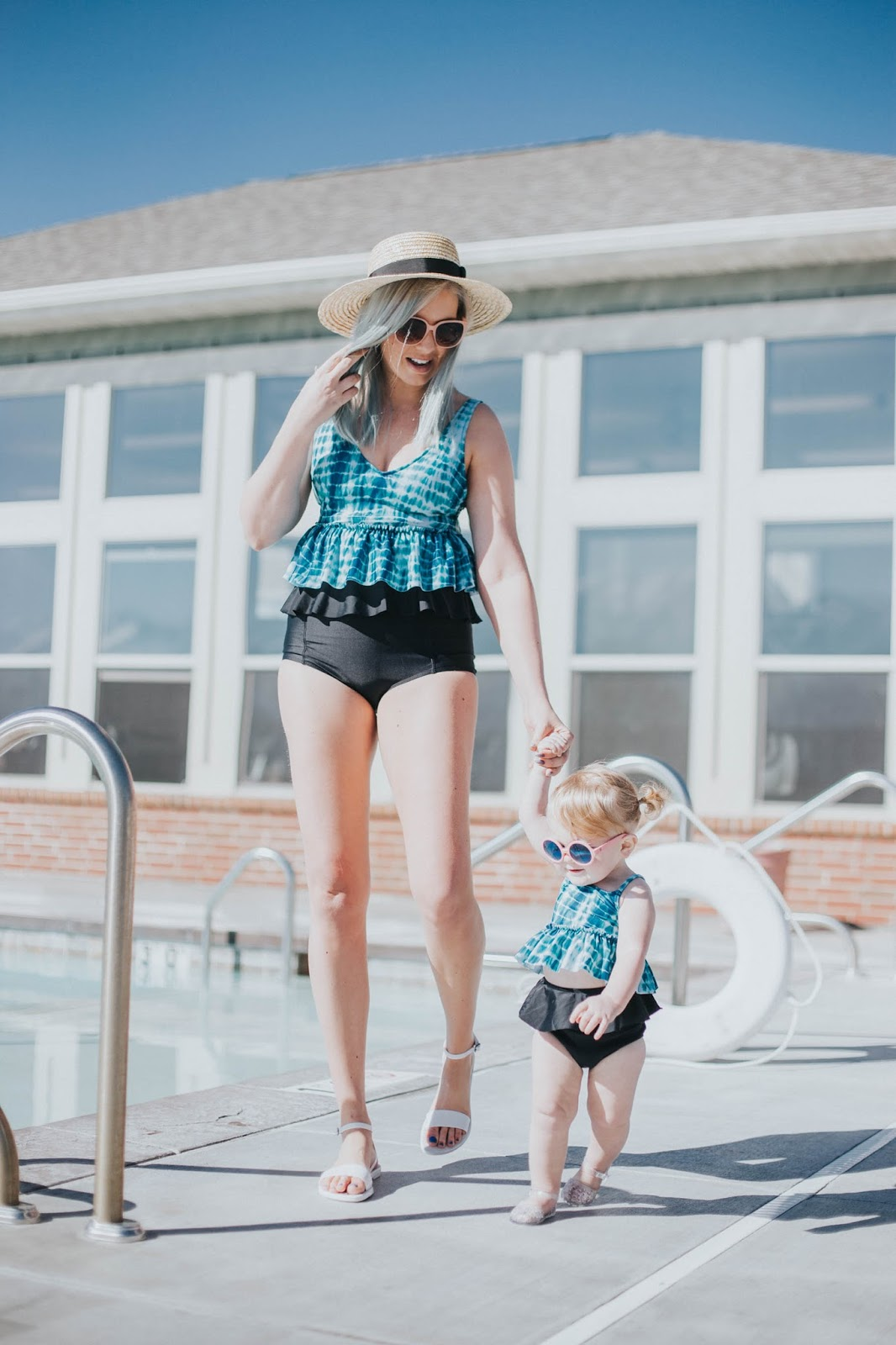 Mommy and Me Swimming Suits, Modest Swimsuits, Matching Swimsuits