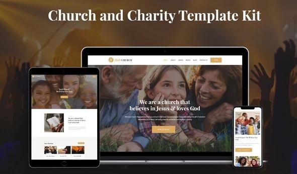 Church & Charity Template Kit