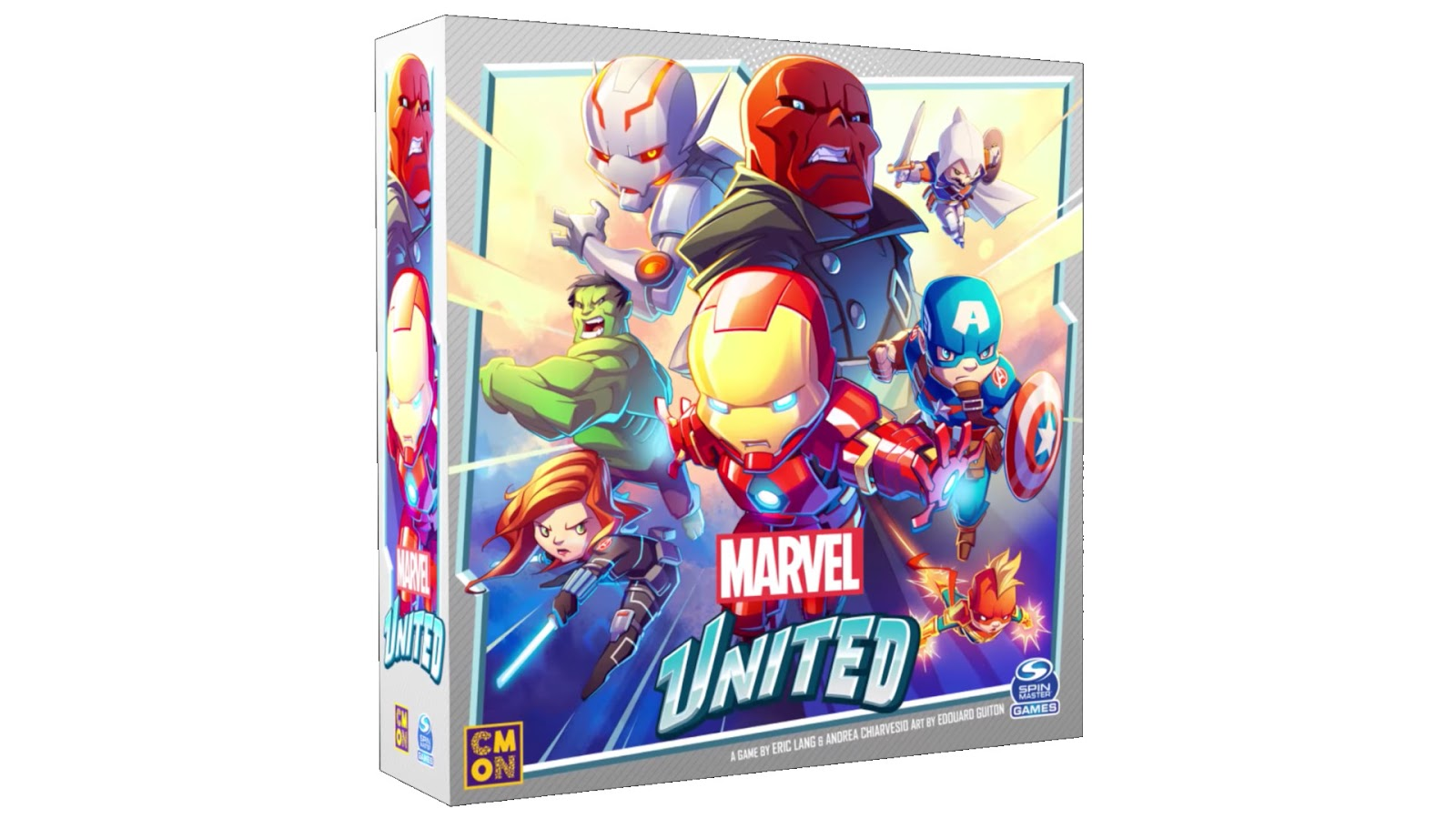 Board Game News Collider Marvel United Next Kickstarter from CMON Eric Lang Chibi Arcadia Quest