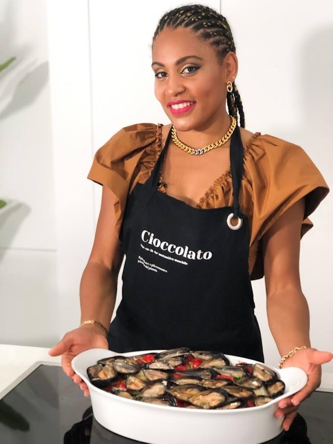 Leidy Cuba è la protagonista della nuova puntata in cucina a Casa del Teatro TV