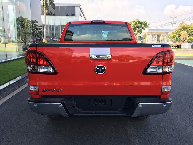 Mazda BT50 2017 phiên bản mới