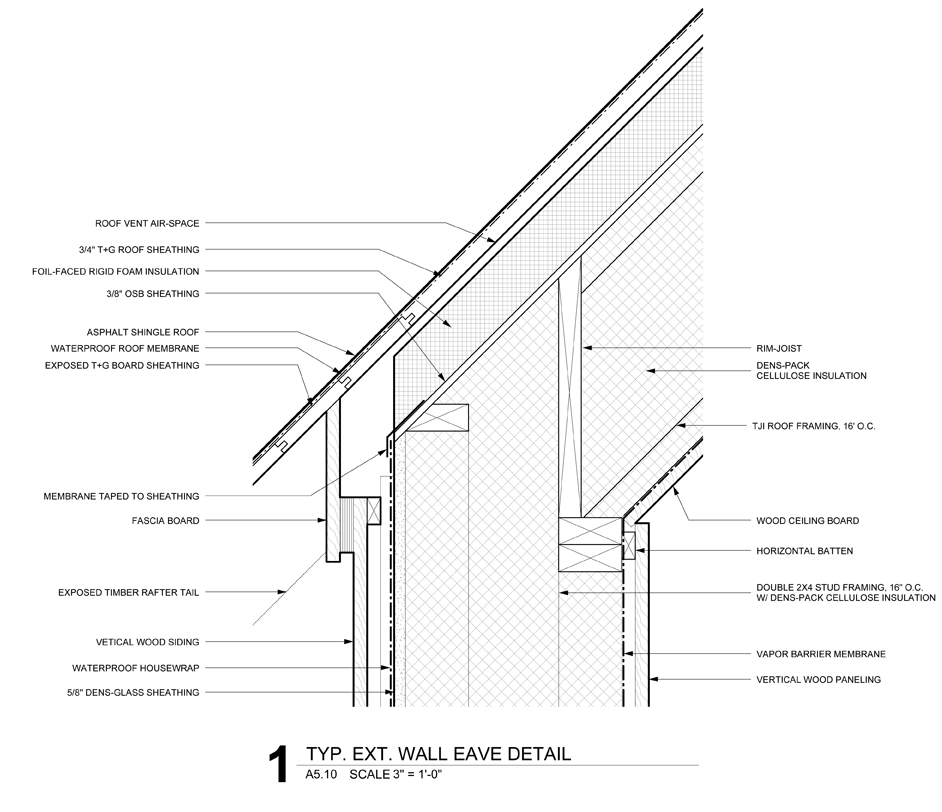 Roof Eave: The BLDGtyp Blog: Closing Up
