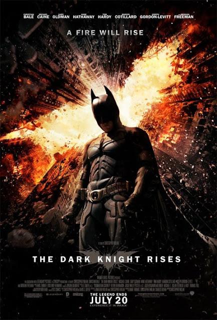 بوستر The Dark Knight Rises
