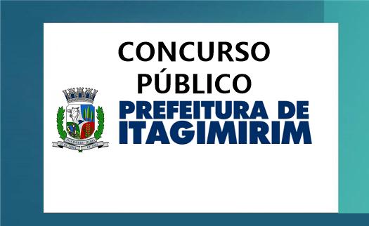 concurso Prefeitura de Itagimirim-BA com 83 vagas