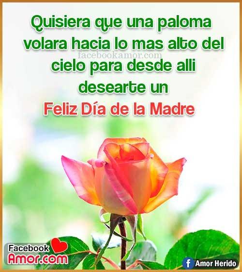 mensajes con rosas para mamá