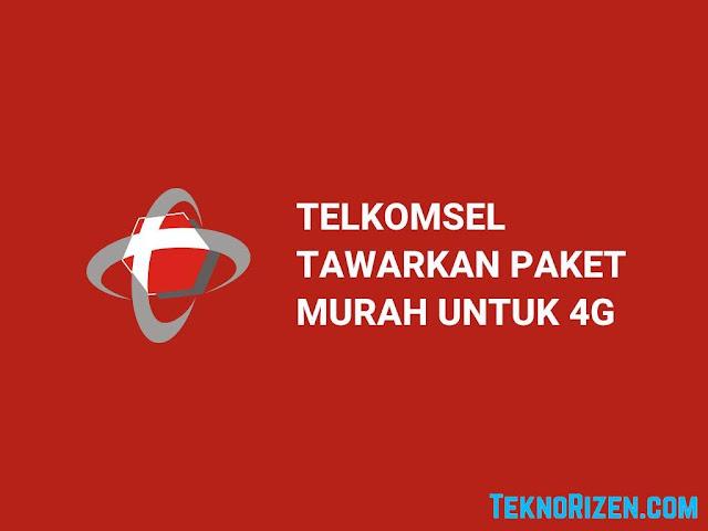 Memperingati Hari 4G, Telkomsel Tawarkan Paket Murah Khusus 4G