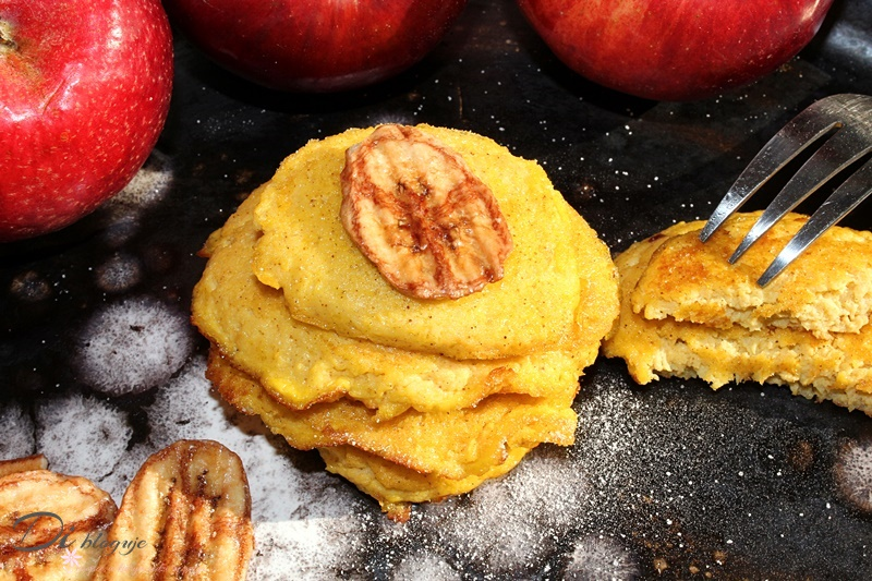 3-skadnikowe placki z jabłka (paleo, bez mąki i cukru)