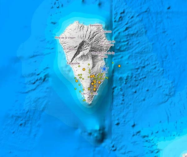 Terremotos Isla de La Palma, 28 julio 2020, baja intensidad