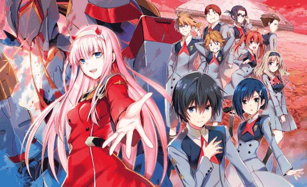 Darling in the Frankxx - Daftar Anime 2018 Terbaik dan Terpopuler
