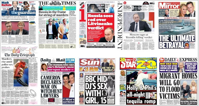 front pages jan 21