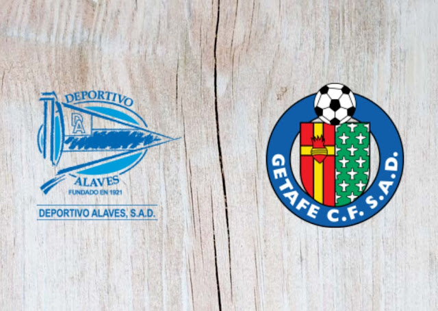 Deportivo Alavés vs Getafe -Highlights 13 July 2020