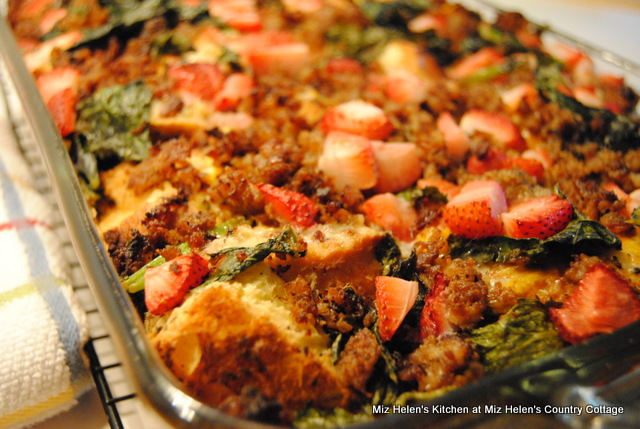 Italian Brunch Casserole at Miz Helen's Country Cottage
