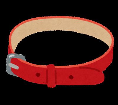 ペットの首輪のイラスト