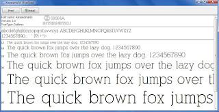 Menambahkan Font Baru Di Windows 2