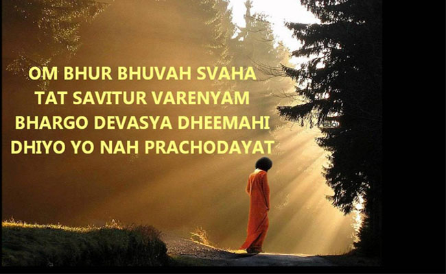 Why Gayathri Mantra Is Chanted In Prayers?