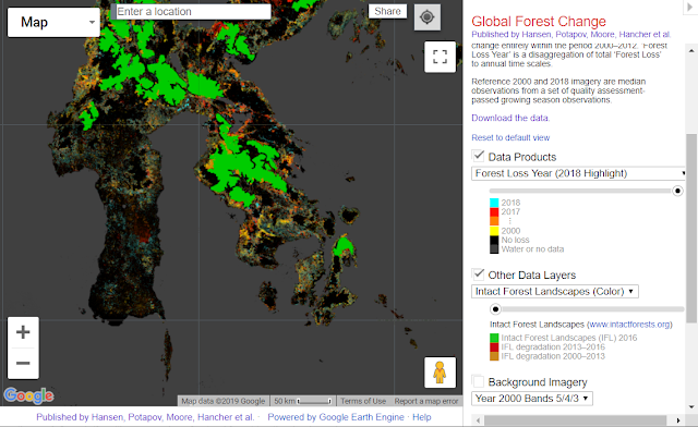 Global Forest Change Hansen et al.
