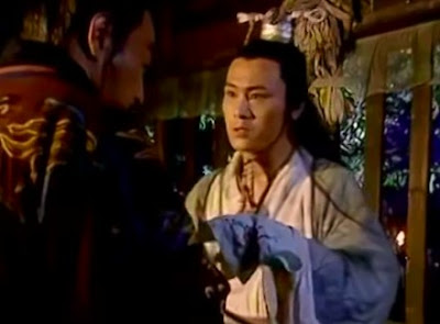 Lin Pingzhi showed a handkerchief to his father