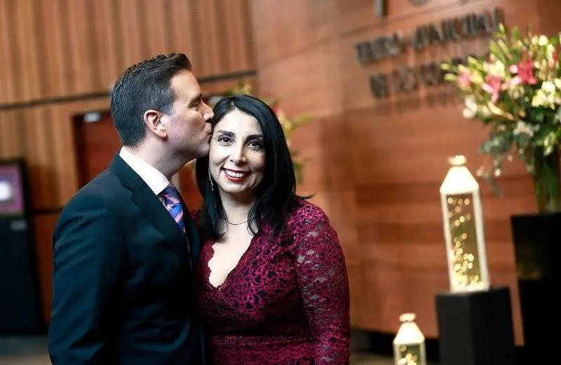 Karla Rubilar y Christian Pino cuentan su pololeo