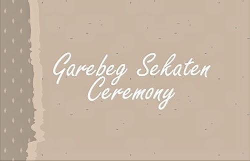 Epic travelers - Garebeg Sekaten Ceremony Yogyakarta