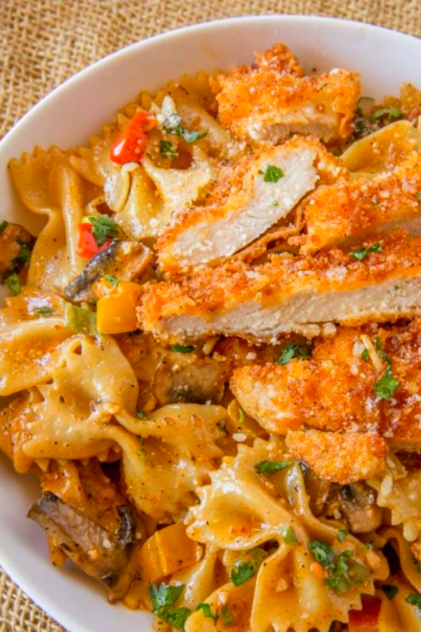 Cheesecake Factory Louisiana Chicken Pasta (Copycat)