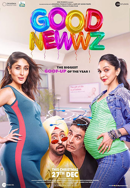 Good Newwz 2019 Hindi Movie 720p Pre-DVDRip 700MB
