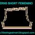 Patrones de Short Femenino | Paterns Free