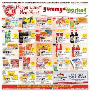 Yummy Market Weekly Flyer February, 2018