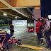 Cenas fortes: motociclista é atropelado e arremessado de cima de viaduto no Parque 10, em Manaus