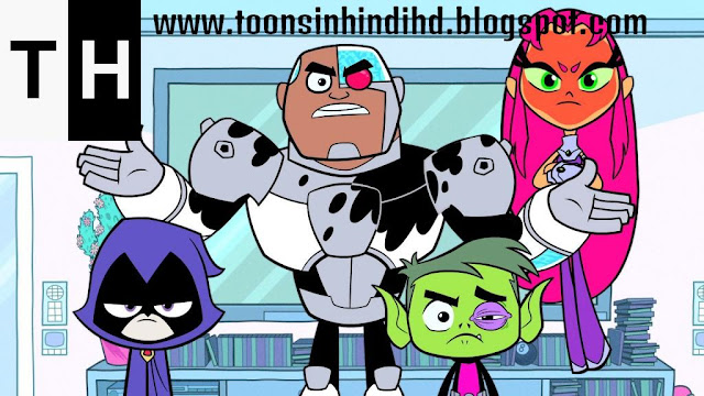 Teen Titans Go In Hindi