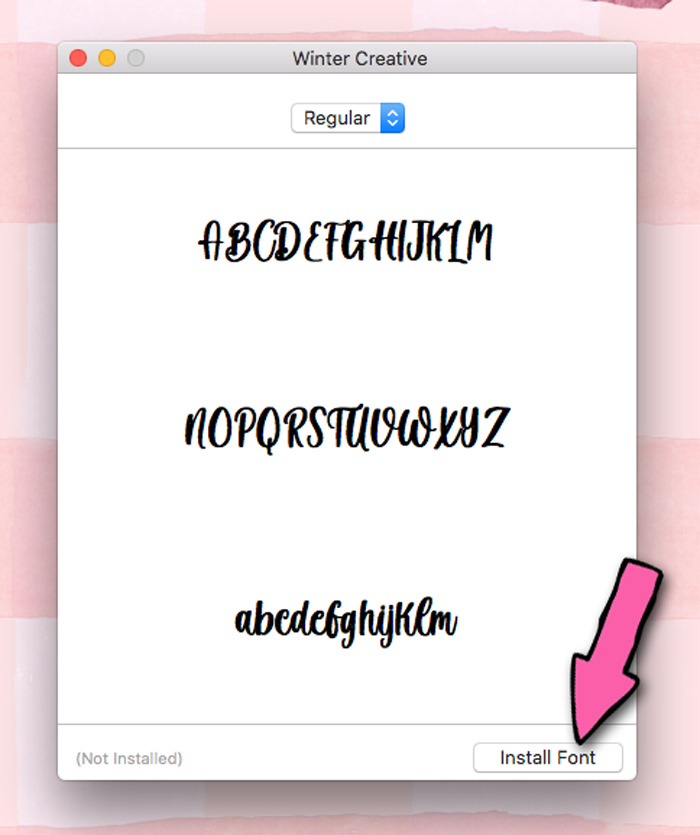 How to Install Fonts