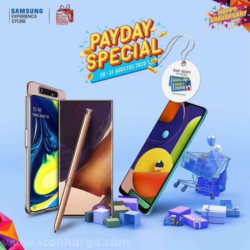Samsung Store Promo Payday Special Offer By Nasa 28 - 31 August 2020
