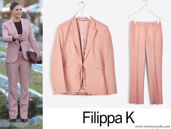 Crown Princess Victoria wore Filippa K Jacket and Trousers
