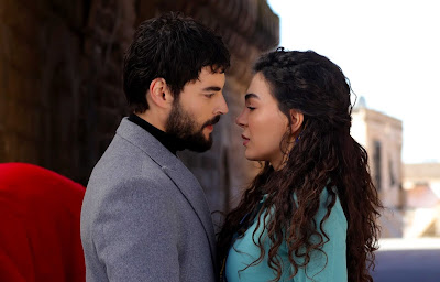 Akin Akinözü y Ebru Sahin en Hercai