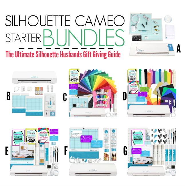 where to buy silhouette cameo, best silhouette cameo bundle, silhouette cameo starter bundle, silhouette cameo bundle comparison
