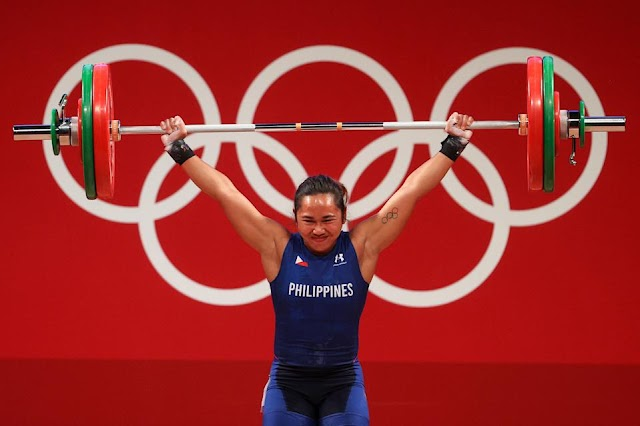 Hidilyn Diaz Wins Philippines' First Ever Olympic Gold