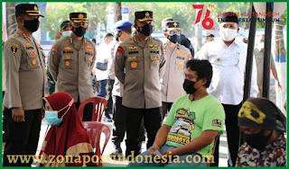 Irwasum Polri Support Kodim 0828 Sampang, Polres Sampang Dan Pemkab Sampang Dalam Penanganan Covid-19 Di Kabupaten Sampang