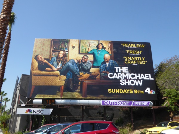Carmichael Show season 2 billboard