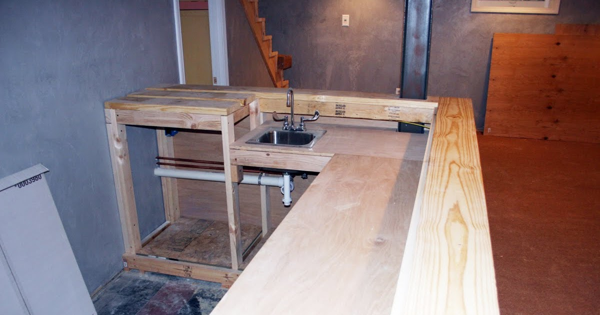 hockey haven the do it yourself basement remodel how long does it take to build a bar. Black Bedroom Furniture Sets. Home Design Ideas