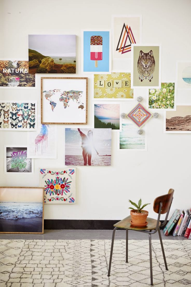 my scandinavian home: Fabulous wall art inspiration
