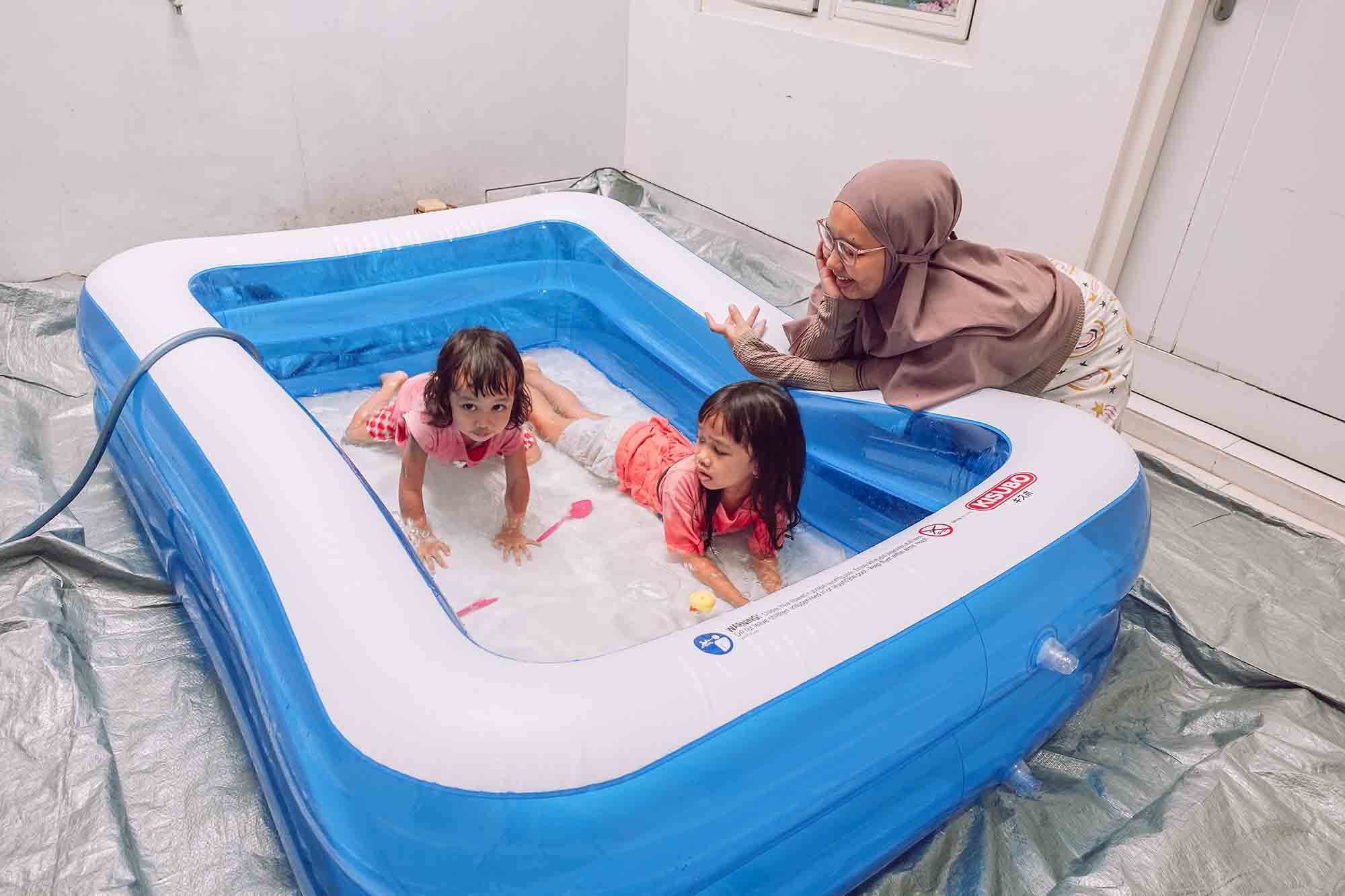 review kolam renang portable