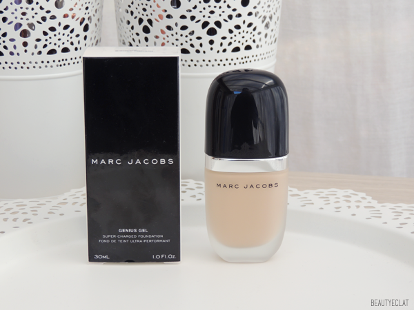 revue avis test marc jacobs genius gel fond de teint swatch 26 bisque medium