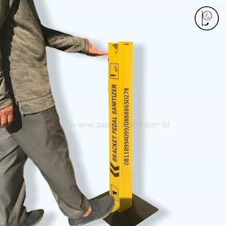 pedal sanitizer | dudukan sanitizer| Bracket sanitizer |BreketSanitizer