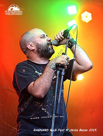 Bran Barr @Ragnard Rock Fest 2015, Simandre-sur-Suran 17/07/2015