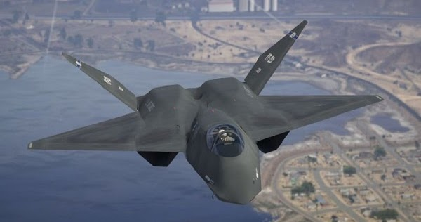 YF-23 Black Widow II - GTAind - Mod GTA V Indonesia