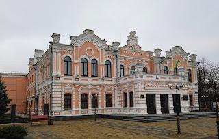 Прилуки. Театральная площадь. Дворец культуры. «Театр Бродского»