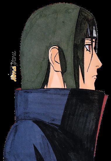 #49 Render_Itachi Uchiha by HimaYoru