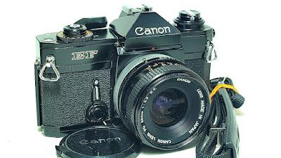 Canon EF (Black Beauty) Body #788, Canon FD 28mm !:3.5 S.C. #334