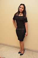 South Actress Amulya in short black dress at Kalamandir Foundation 7th anniversary Celebrations ~  Actress Galleries 016.JPG