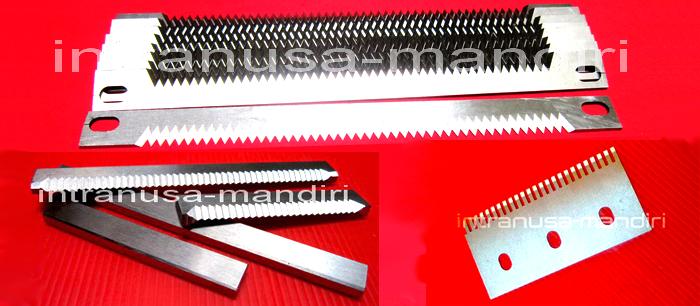 Pisau Perforasi Kemas Renteng & Cut uncut-Material Full Steels,, Sealer - Material HSS